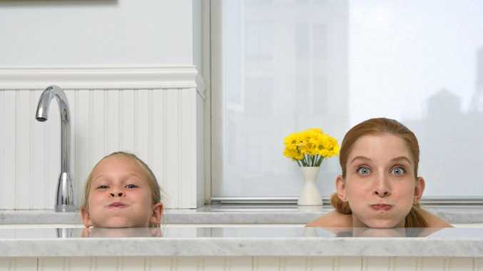 BARE FACTS: We were bathing, we had to be naked - how else would we get clean?