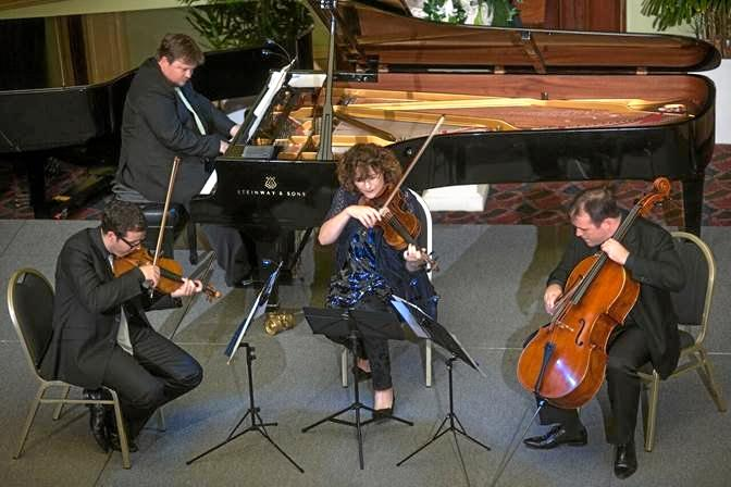 MUSIC TO YOUR EARS: White Halo Ensemble presents chamber music at its best at USQ Arts Theatre.