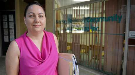 Principal solicitor Jessica Brake from Mackay Regional Community Legal Centre is concerned funding cuts will badly impact legal services offered.