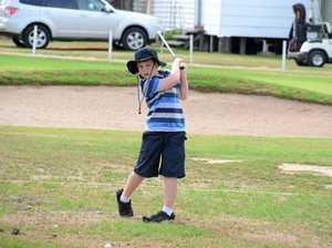 Carney has sights set on jnr golf comp
