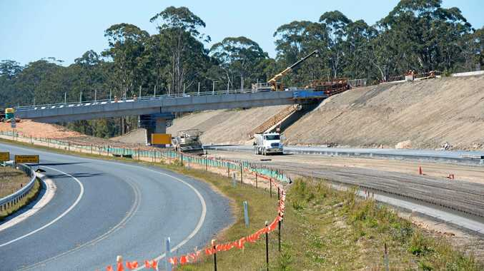 The timing to start construction of the Coffs Harbour bypass has been anticipated to