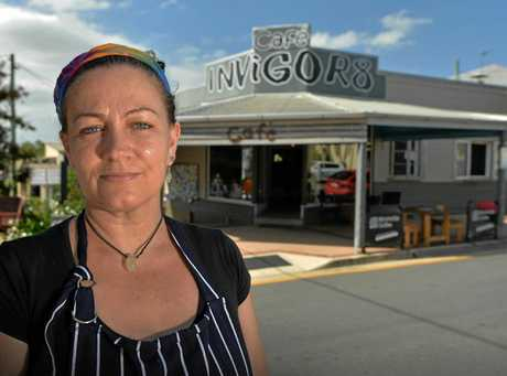 Yandina Invigor8 cafe owner Tanya Lewis is sick of dishonest people posting reviews about her cafe on TripAdvisor.