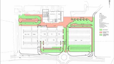 Ballina Byron Gateway Airport new carpark plan.