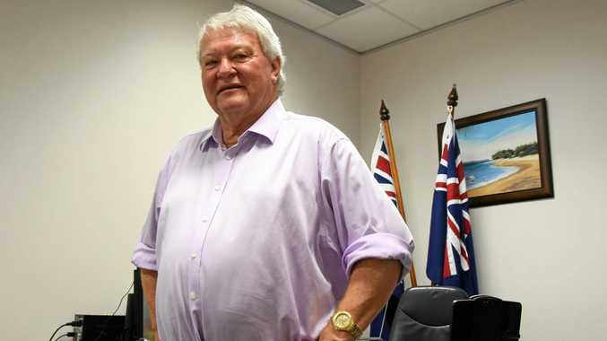 LISTEN UP: Flynn MP Ken O'Dowd will be pushing hard to get government offices relocated to Gladstone.