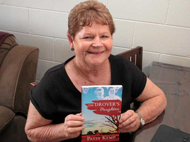 Patsy Kemp grew up on the road droving with her father since the age of three months and wrote a book, The Drover's Daughter, about her experiences.