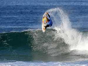 Hurley pro surfers drop into Tweed for week long fun