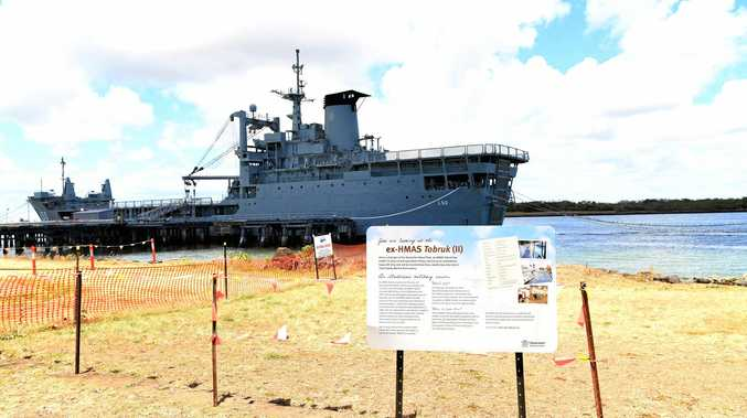Up to 50 jobs from the creation of a dive site for the HMAS Tobruk.