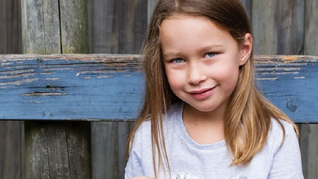 Seven-year-old Carys knows she's sick, but doesn't know the extent of her brain cancer prognosis.