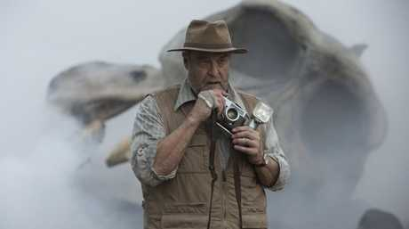 John Goodman in a scene from the movie Kong: Skull Island.