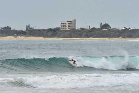 The swell is picking up on the Sunshine Coast. Maroochydore Wednesday March 8 2017