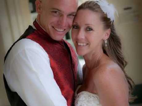 Rhys's brother Josh, pictured with wife Claudette, says the Department of Human Services should accept some responsibility.Source:Supplied