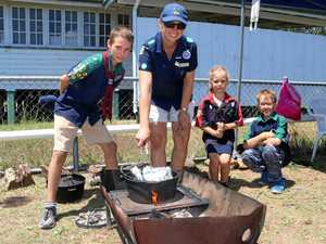 Scouts welcome public