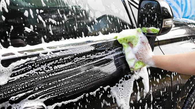 55% of us admit to washing our cars less than once a fortnight.