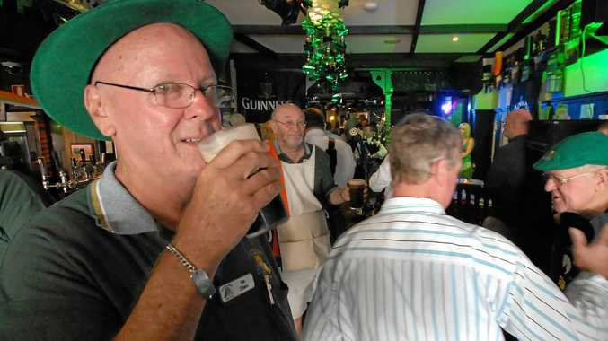 SLÁINTE!: A toast to good health ... and good fun as St Patrick's Day brings out the Irish in everyone in Toowoomba.