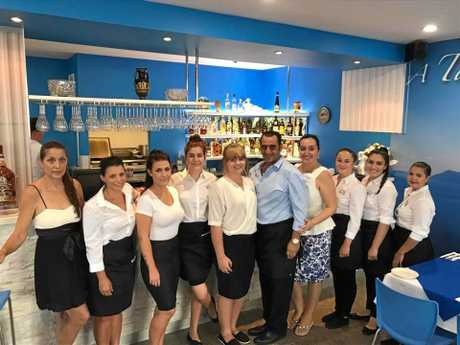 HERE TO HELP: The new staff at Let's Do Greek hope to make every experience a positive one for customers.