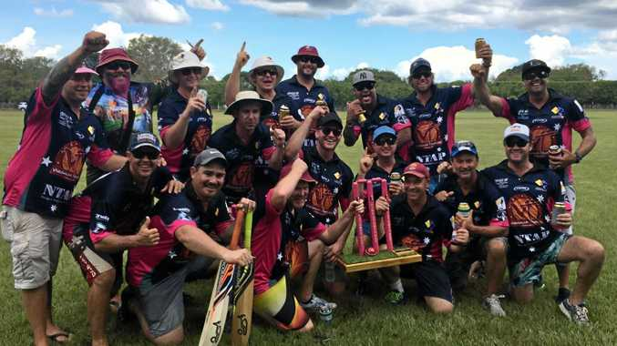 AMWU Pink Stump winners Cleto Piani, Riley Masjid, Chuck Norris, Jason Beard, Ian Beard, Clint Shanahan, Brendan Maas, Shane Walker, Brian Sayers, Tyler Walker, Geoff Mackey, Arian Kirk, Dale Simpson, Simon Wells, Terry McConnell and Paul Viner.