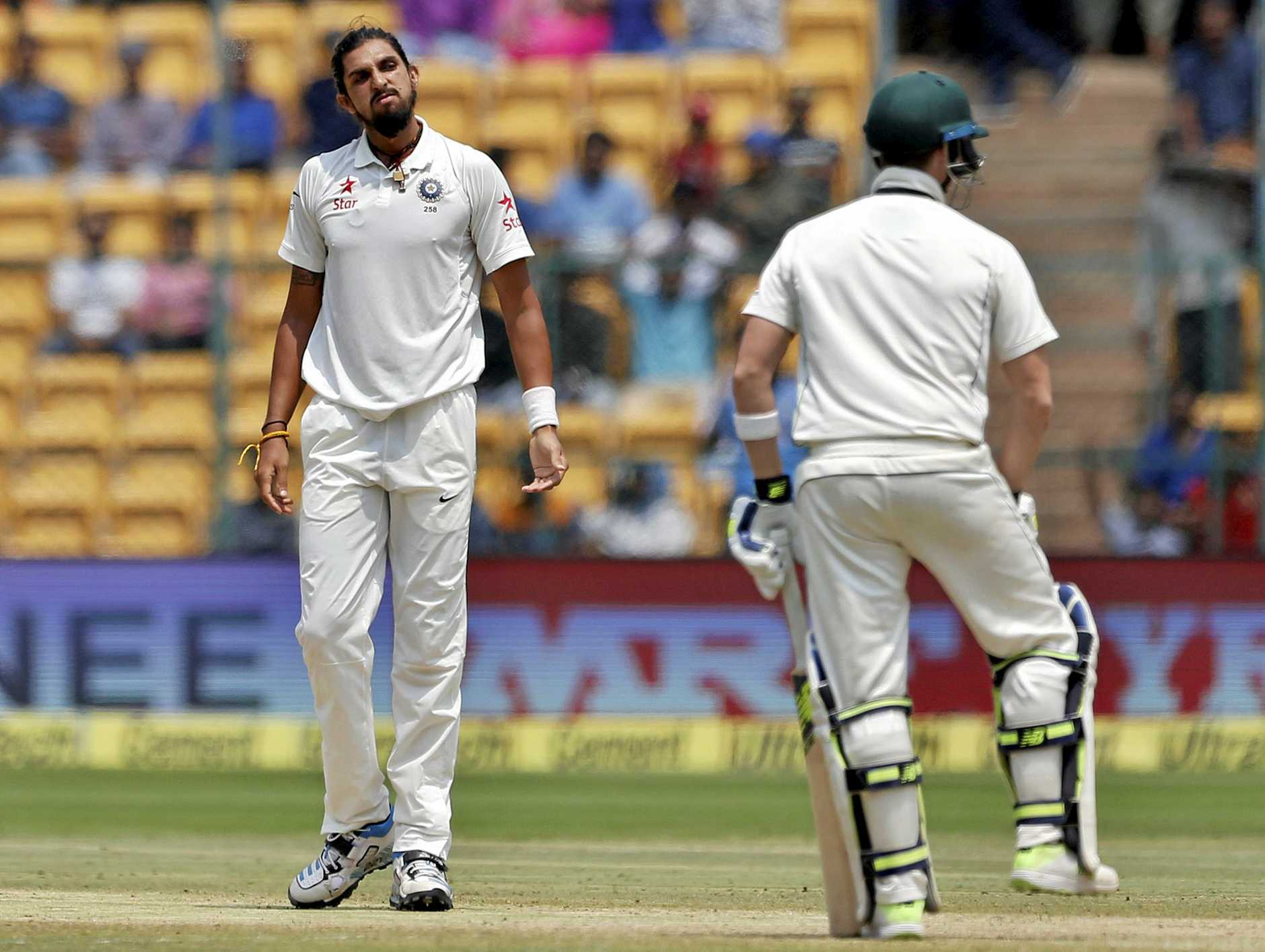 Ishant Sharma impressed against South Africa. (AP Photo/Aijaz Rahi)