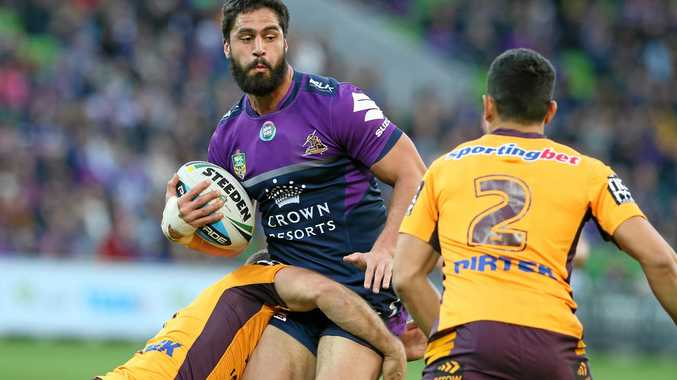 Jesse Bromwich in action for the Storm