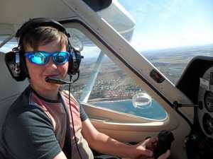 12-year-old Bundy pilot takes to the skies