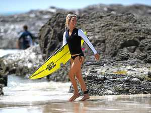 Stars out to play in huge Snapper Rocks' swell