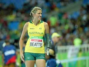 Beattie on back foot as leg injury halts training