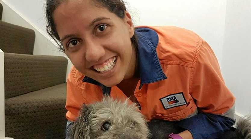 RECOGNISED: Nikhat Nagin received the prestigious Exceptional Young Woman in Queensland Resources Award.