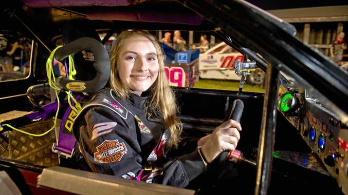 RECOGNISED: Keen driver Abi Meehan won the Exceptional School Student category in the QRC's Resources Awards for Women.