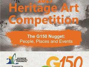 Heritage Art comp draws on Gympie's golden beginning