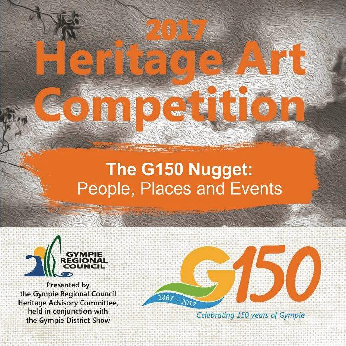 HERITAGE ART: Be inspired to paint your significant gold nugget for the annual Heritage Art Competition and come to one of the many events held in conjunction with the historic exhibitions 'Now and Then' and 'Edward Bytheway' on view at the Gympie Regional Gallery.