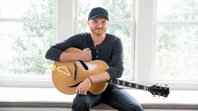 HAPPY TO BE HERE: American country singer Eric Paslay will play CMC Rocks 2017.