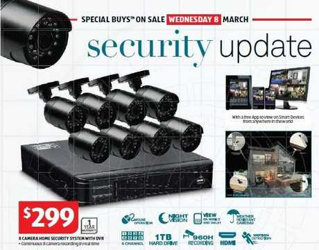 SOLD OUT: Security cameras have completely sold out at Gladstone's new ALDI store.