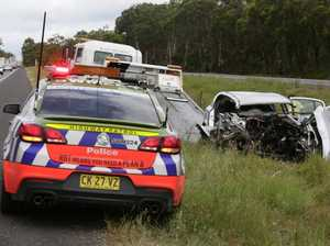 Charges laid over crash.