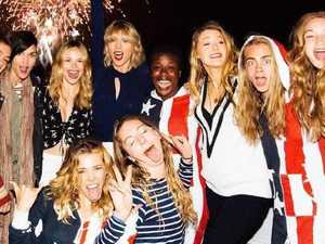 Ed Sheeran's hooked up with Taylor Swift's 'girl squad'