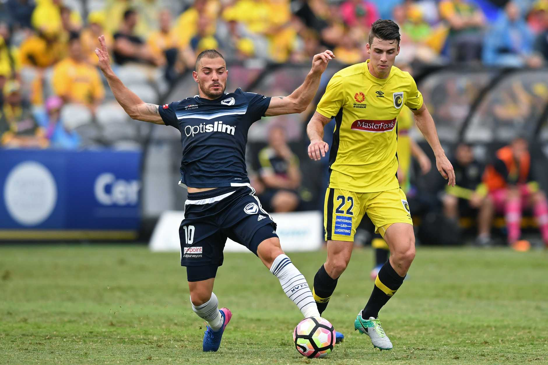 James Troisi has been in good form for Melbourne Victory.