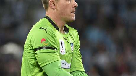 Danny Vukovic has starred for Sydney FC this season.