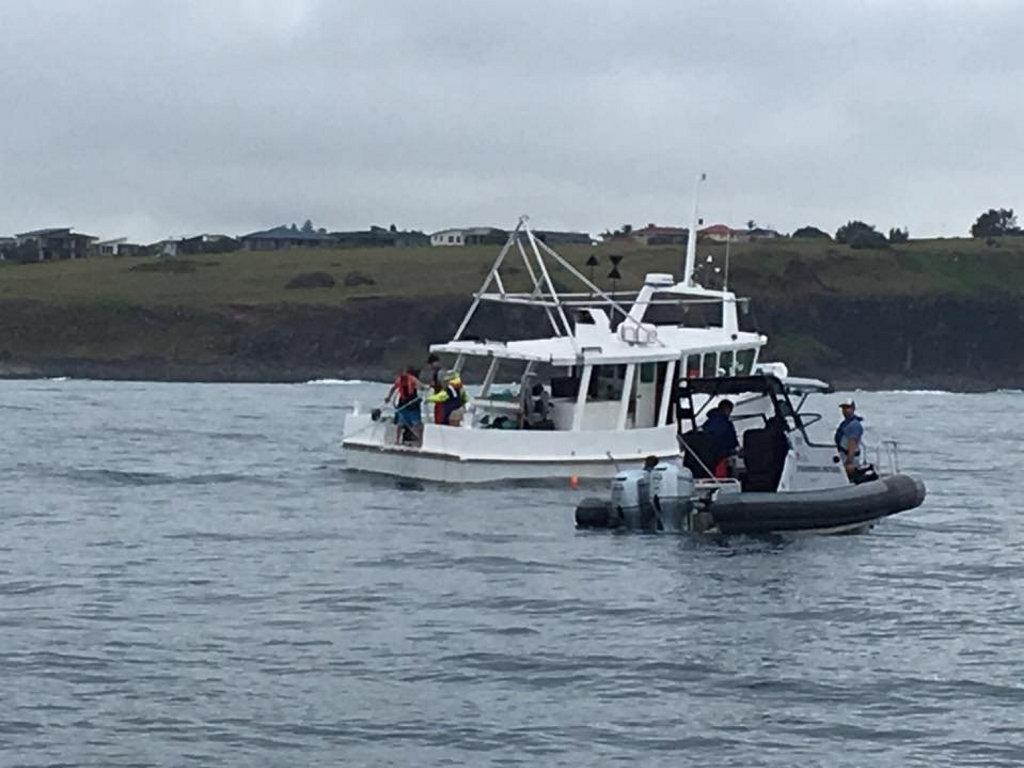 North Coast shark net trial.
