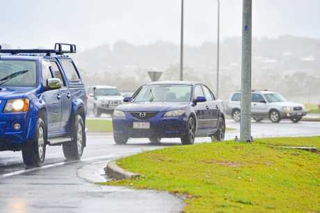 WET WEATHER: Road users should be particularly vigilant when driving in wet conditions.