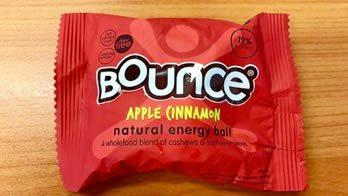 Bounce Apple Cinnamon Natural Energy Balls have been recalled.
