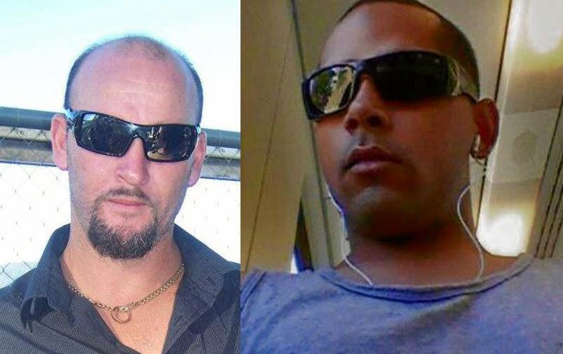 Accused murderers of Rockhampton's Chantal Barnett and Robert Martinez who went missing in 2013, Daniel George Hong, 41, and Ian Robert Armstrong, 31.