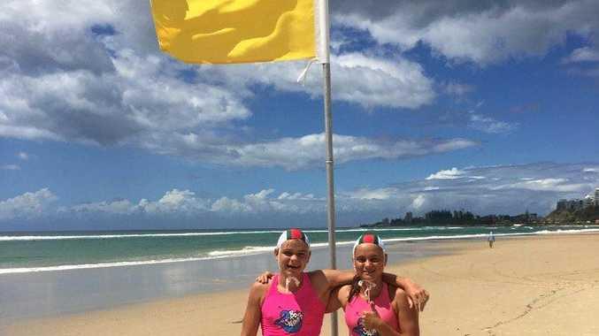 Megan and Joachim Born will represent Mackay at the state senior Surf Life Saving Championships at North Kirra this weekend.