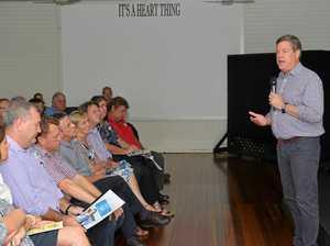 Tim Nicholls brings LNP listening tour to Mackay