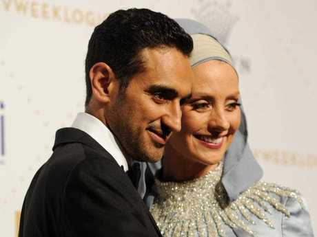 Waleed Aly and Susan Carland at the 2016 Logie Awards