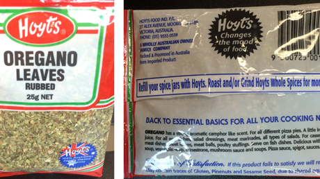 Hoyt's has been fined for cutting its oregano with olive leaves