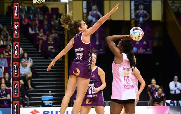 Laura Clemesha in action last season.
