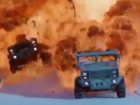 The Fate of the Furious promises lots of explosions.