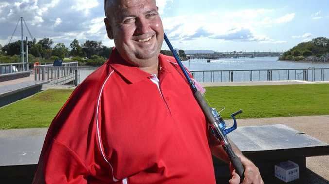 Gladstone fisherman Jason Fitzgerald wants to open a one stop shop for local boaties, with 24-hour bait, tackle and storage.