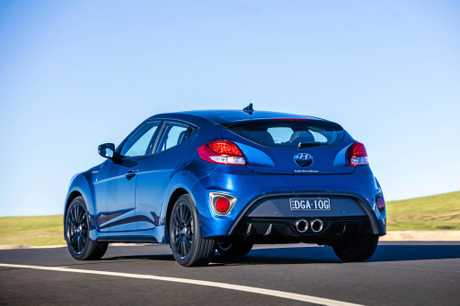 The Hyundai Veloster Turbo Street special edition is limited to 200 units in Australia.