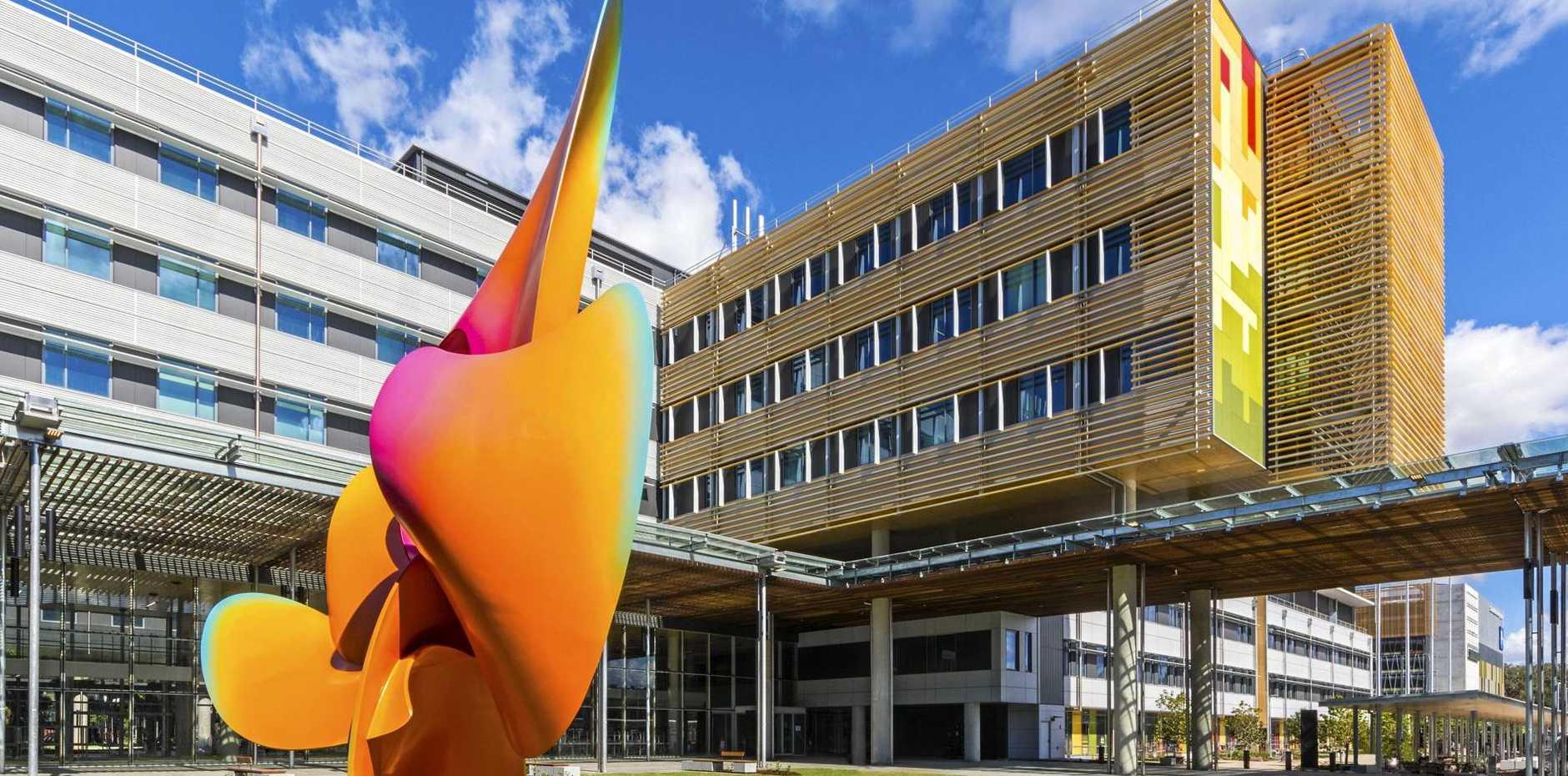 Sunshine Coast University Hospital.