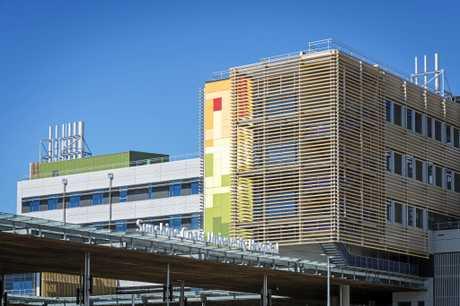 Sunshine Coast University Hospital at Birtinya.