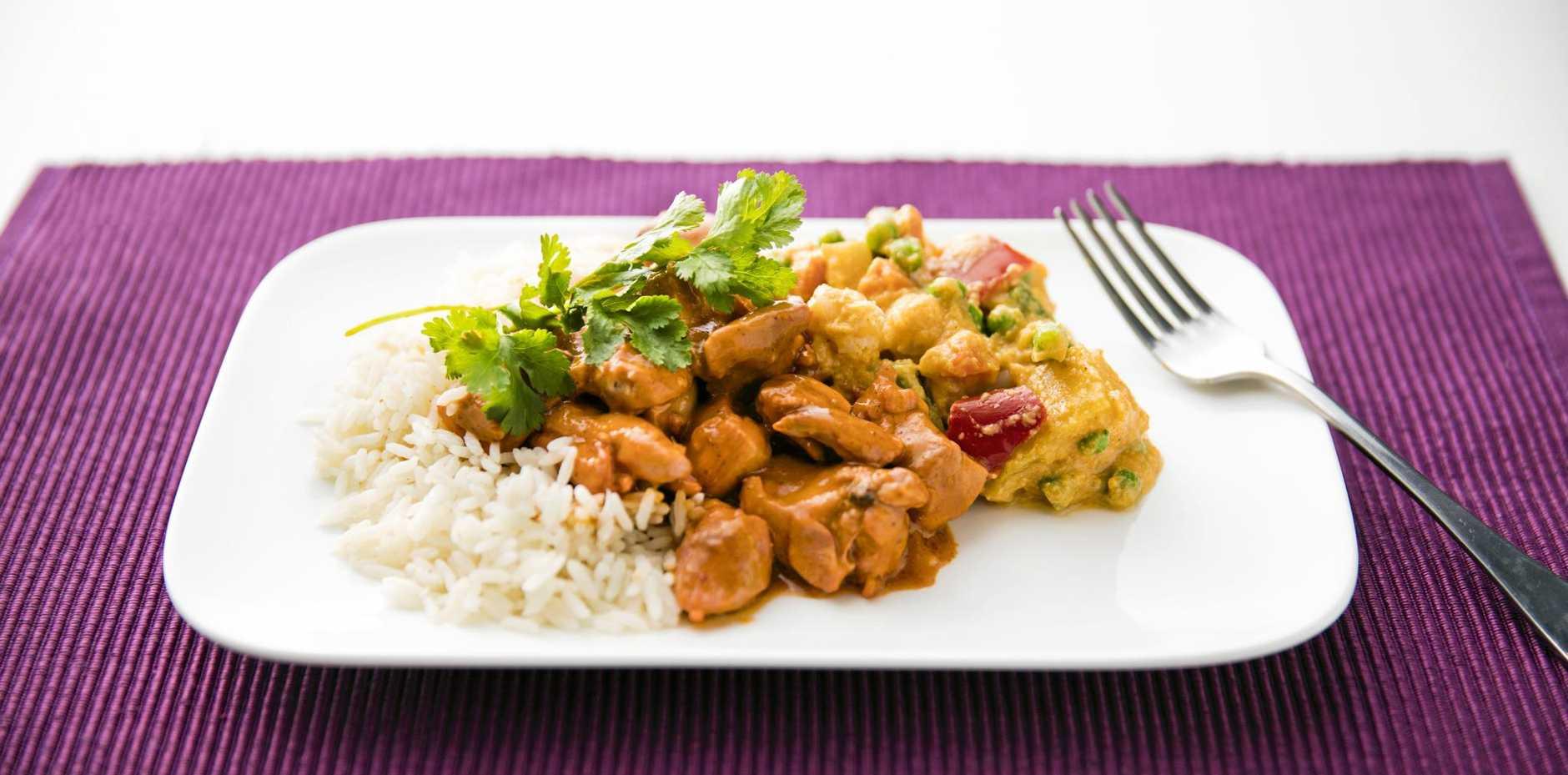 MEALS DELIVERED: Tender Loving Cuisine's inviting Butter Chicken.